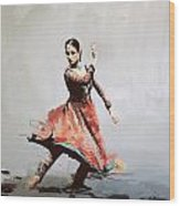 Classical Dance Art 11 Wood Print
