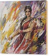 Classical Dance Art 14 Wood Print