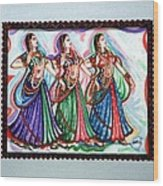 Classical Dance1 Wood Print