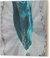 Classically Costumed Xviii Wood Print