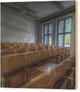 Classroom Seating Wood Print