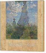 Claude Monet 1 Wood Print