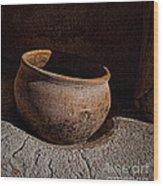 Clay Pot  ... Wood Print