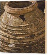 Clay Pots   #7816 Wood Print