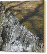 Clear Beautiful Water Series 1 Wood Print