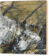 Clear Beautiful Water Series 2 Wood Print