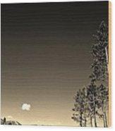 Clear Colorado Skies Wood Print by Garren Zanker