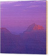 Clearing Storm From North Rim Grand Canyon National Park Wood Print