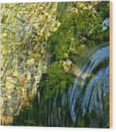 Clearwater Falls Series 11 Wood Print