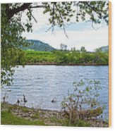 Clearwater River In Nez Perce National Historical Park-id  Wood Print