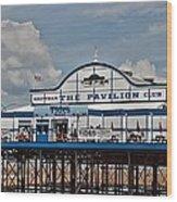 Cleethorpes Pier Wood Print