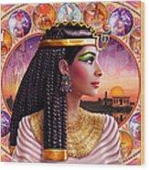 Cleopatra Variant 3 Wood Print