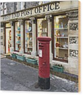 Clevedon West End Post Office Wood Print