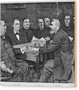 Cleveland Cabinet, 1893 Wood Print