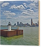 Cleveland Harbor  Wood Print