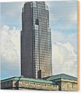 Cleveland Key Bank Building Wood Print