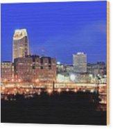Cleveland Panoramic      Wood Print