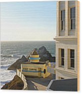 Cliff House Giant Camera Wood Print