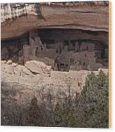 Cliff Palace Wood Print