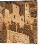 Cliff Palace Townhomes Wood Print