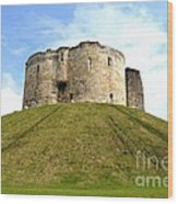 Clifford's Tower York Wood Print