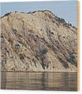 Cliffs Erikousa Wood Print