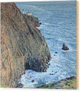 Cliffs Wood Print by JC Findley