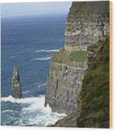 Cliffs Of Moher 7 Wood Print by Mike McGlothlen