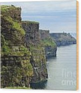 Cliffs Of Moher 7266 Wood Print