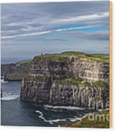 Cliffs Of Moher I Wood Print