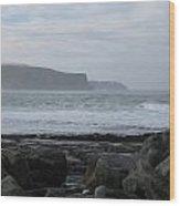 Cliffs Of Moher Ireland Wood Print