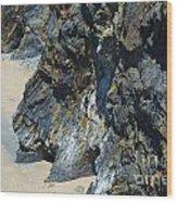 Cliffs Of Pembrokeshire Wood Print