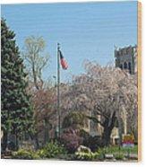 Cliftondale Square Wood Print
