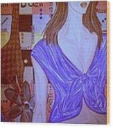 Clin D'oeil Wood Print