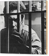 Clint Eastwood In Escape From Alcatraz  Wood Print