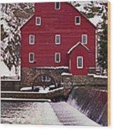 Clinton Mill Wood Print