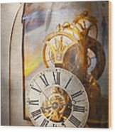 Clockmaker - A Look Back In Time Wood Print