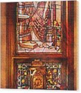 Clockmaker - An Ornate Clock Wood Print