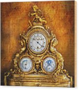 Clockmaker - Anyone Have The Time Wood Print