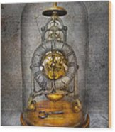 Clocksmith - The Time Capsule Wood Print by Mike Savad
