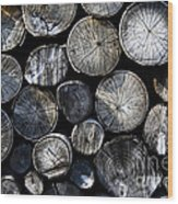 Clogs Wood Print