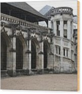 Cloister And Staircase Cathedral Tours Wood Print