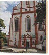 Cloister - St. Marienstern Wood Print