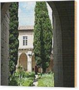 Cloistergarden Chartreuse Wood Print