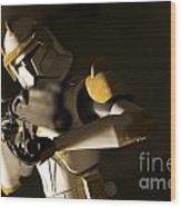 Clone Trooper 1 Wood Print