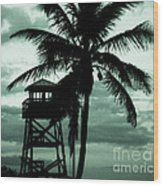 Close To Paradise No1 Wood Print