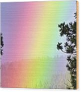 Close To The Pot Of Gold Wood Print