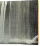 Close Up Of Cumberland Falls Wood Print