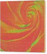 Close-up Rose Wood Print