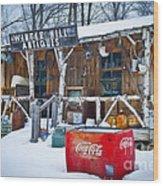 Closed For The Season Wood Print